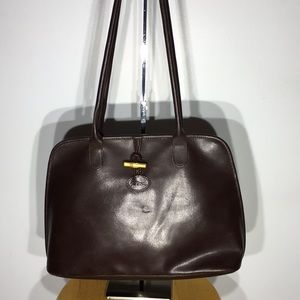 Longchamp Leather Bag Satchel
